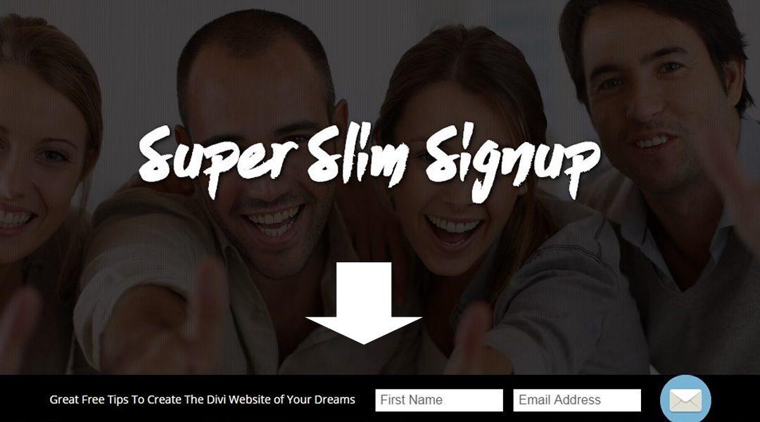 Super Slim Subscribe Module Tutorial